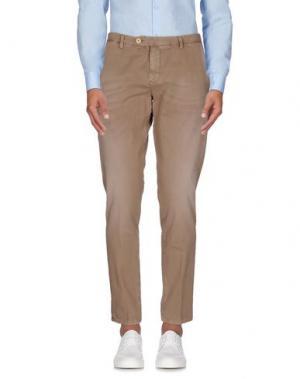 Повседневные брюки TAKESHY KUROSAWA. Цвет: хаки