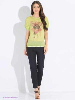 Блузка LUIGI FERRO. Цвет: зеленый
