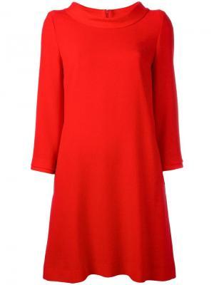 Платье Dawn Goat. Цвет: красный