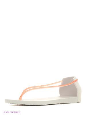Сандалии Ipanema. Цвет: молочный, розовый, серый