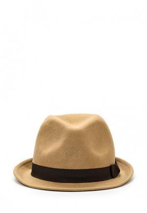 Шляпа diva. Цвет: коричневый