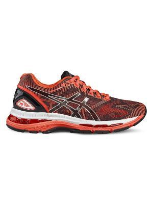 Спортивная обувь GEL-NIMBUS 19 ASICS. Цвет: черный, розовый, серебристый