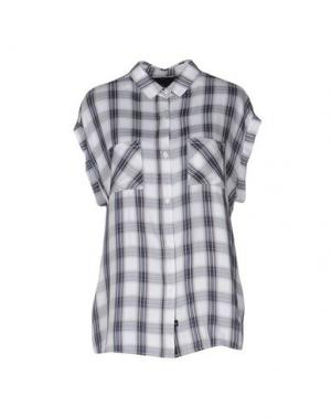 Pубашка RAILS. Цвет: светло-серый