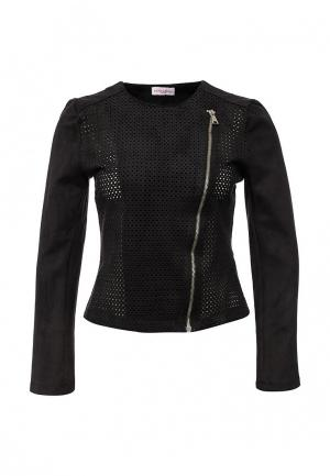 Куртка кожаная Fontana 2.0. Цвет: черный