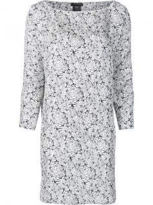 Платье Bury Thomas Wylde. Цвет: белый