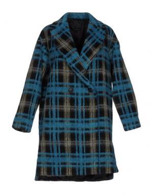 Пальто BRIAN DALES. Цвет: лазурный