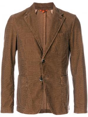 Блейзер в стиле casual Barena. Цвет: коричневый