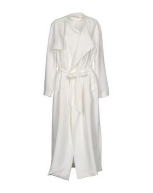 Длинное платье ANGELA MELE MILANO. Цвет: белый