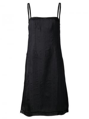 Платье-комбинация Dosa. Цвет: чёрный