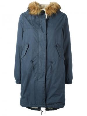 Пальто Layto Bellerose. Цвет: синий