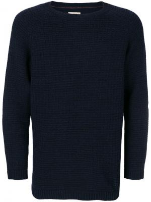 Crew neck jumper Nudie Jeans Co. Цвет: синий