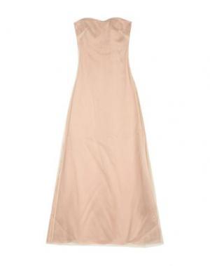 Длинное платье INTROPIA. Цвет: бежевый
