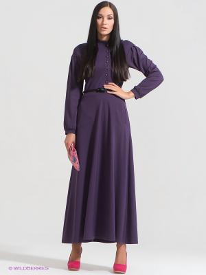 Платье DOCTOR E. Цвет: темно-фиолетовый