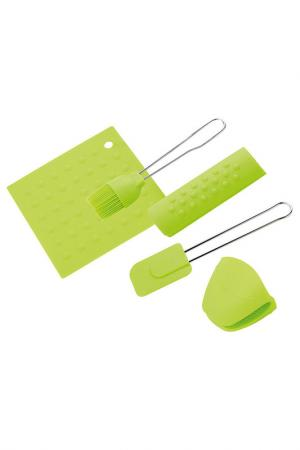 Кухонный набор Calve. Цвет: зеленый