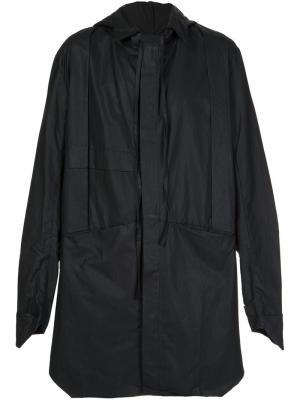 Свободная куртка ветровка Barbara I Gongini. Цвет: чёрный