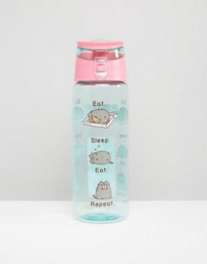 Pusheen Бутылка для воды Eat Sleep Repeat. Цвет: мульти