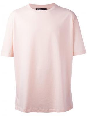 Базовая футболка Raf Simons. Цвет: розовый и фиолетовый