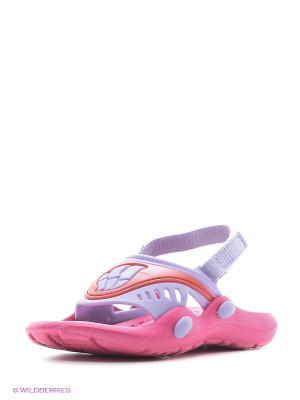 Детские тапочки FLOP Mad Wave. Цвет: розовый, фиолетовый