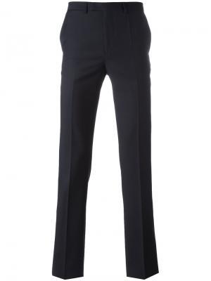 Зауженные брюки Raf Simons. Цвет: чёрный