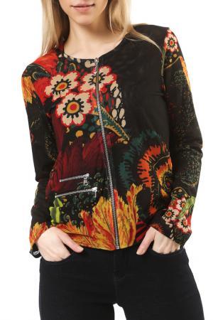 Куртка Desigual. Цвет: multicolor