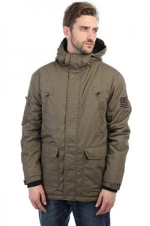 Куртка зимняя  Urban Hooded Zt Mk2 Termac K1X. Цвет: зеленый,серый