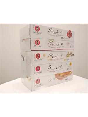 Набор бумажных салфеток Sumi-e Maneki. Цвет: белый