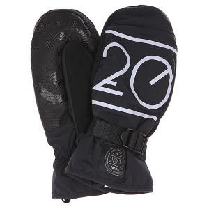 Варежки сноубордические  2032 Mitt Black Thirty Two. Цвет: черный