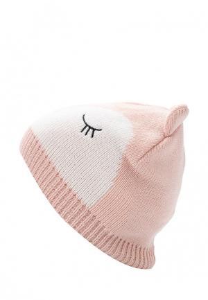 Шапка Acoola. Цвет: розовый