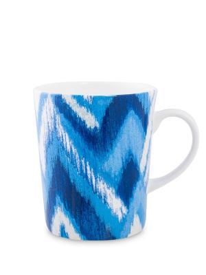 Кружка Миссони синяя (Stechcol) Stechcol. Цвет: белый