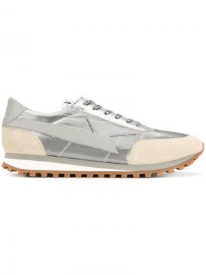 Кроссовки с панельным дизайном Marc Jacobs. Цвет: серый