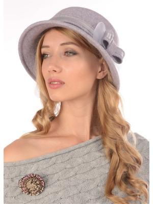 Шляпа Сиринга. Цвет: светло-серый, лиловый