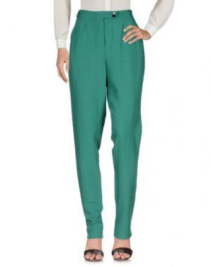 Повседневные брюки BELLEROSE. Цвет: зеленый
