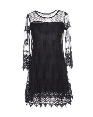 Короткое платье BLEIFREI. Цвет: черный