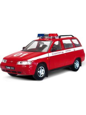 Машина LADA 111 пожарная охрана AUTOTIME. Цвет: красный