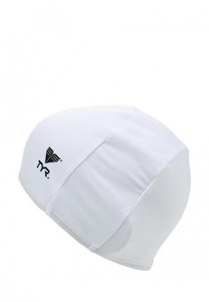 Шапочка для плавания TYR. Цвет: белый
