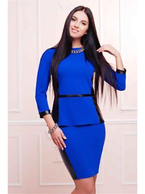 Костюм Fashion Up. Цвет: синий, черный