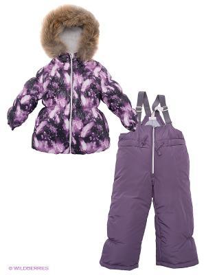 Комплект Hippo Hoppo. Цвет: темно-фиолетовый, сиреневый