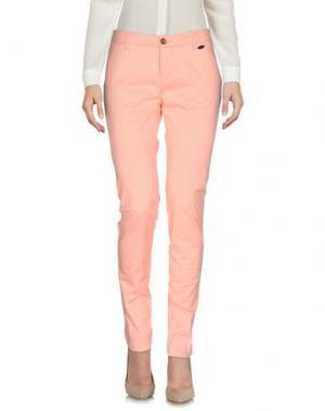 Повседневные брюки RIPCURL. Цвет: лососево-розовый