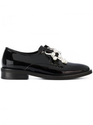Классические туфли Anello Coliac. Цвет: чёрный
