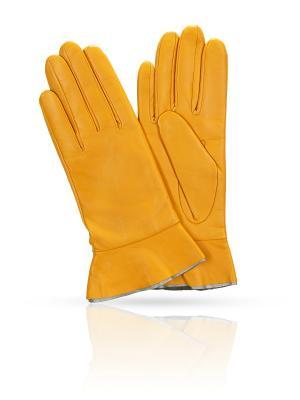 Перчатки MICHEL KATANA`. Цвет: оранжевый