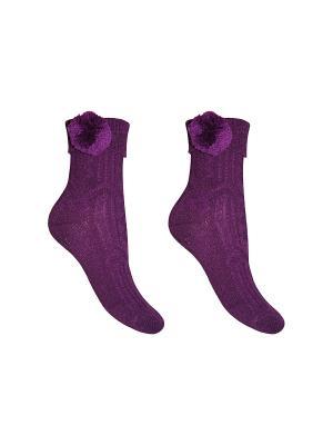 Носки 2 пары Master Socks. Цвет: фиолетовый
