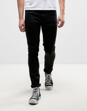 Farah Черные узкие джинсы Drake. Цвет: черный