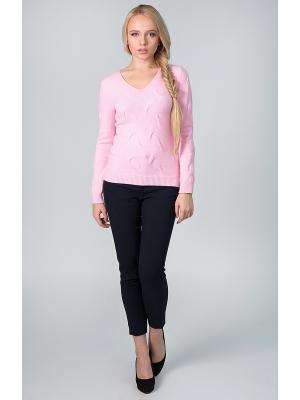 Пуловер Sharvell. Цвет: розовый