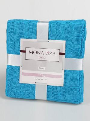 Плед Monet Mona Liza Classic бирюза. Цвет: синий