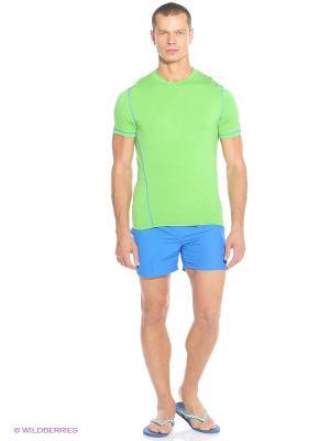 Футболка CMP. Цвет: зеленый