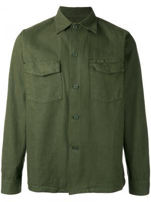 Куртка-рубашка Labo Art. Цвет: зелёный