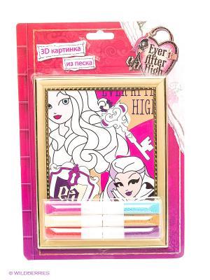 Набор Картинка из песка 3D Ever After High Centrum. Цвет: розовый, белый