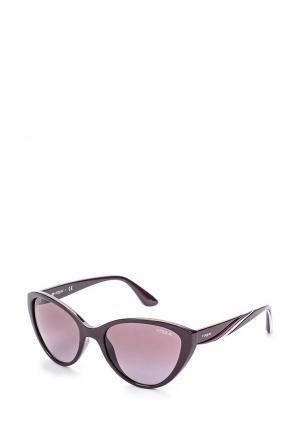 Очки солнцезащитные Vogue® Eyewear. Цвет: фиолетовый