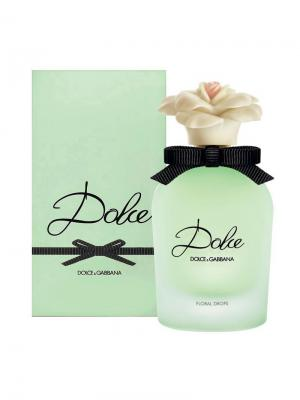 Dolce Floral Drops lady edt 50 ml & GABBANA. Цвет: черный,серо-зеленый