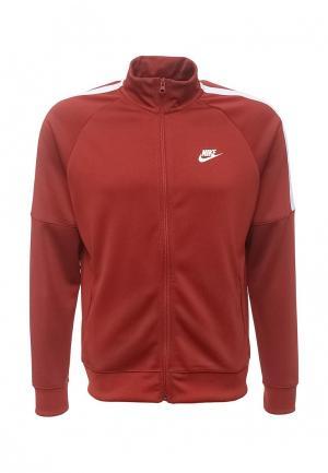 Олимпийка Nike. Цвет: коричневый